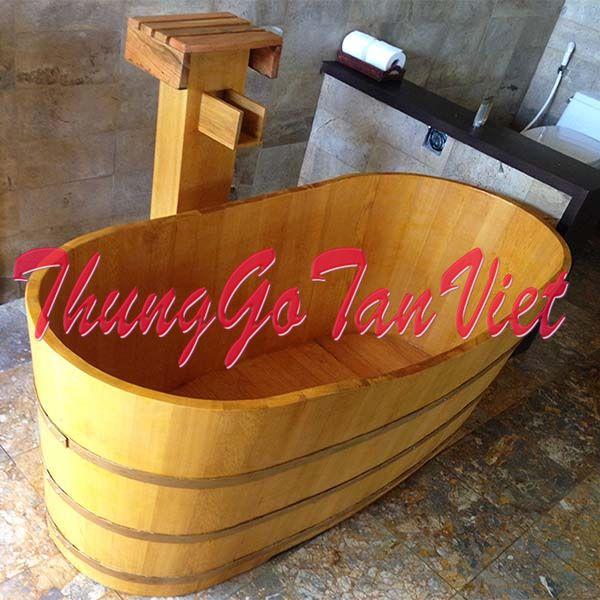 Bồn-tắm-gỗ-pơ mu