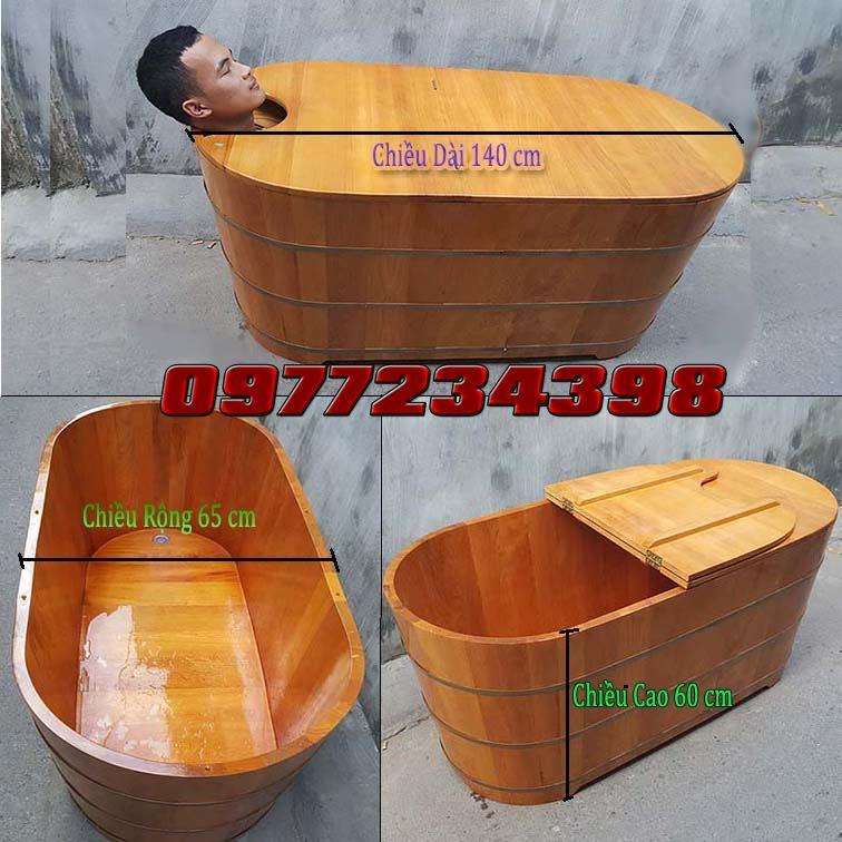 Thùng-tắm-gỗ-tân-việt