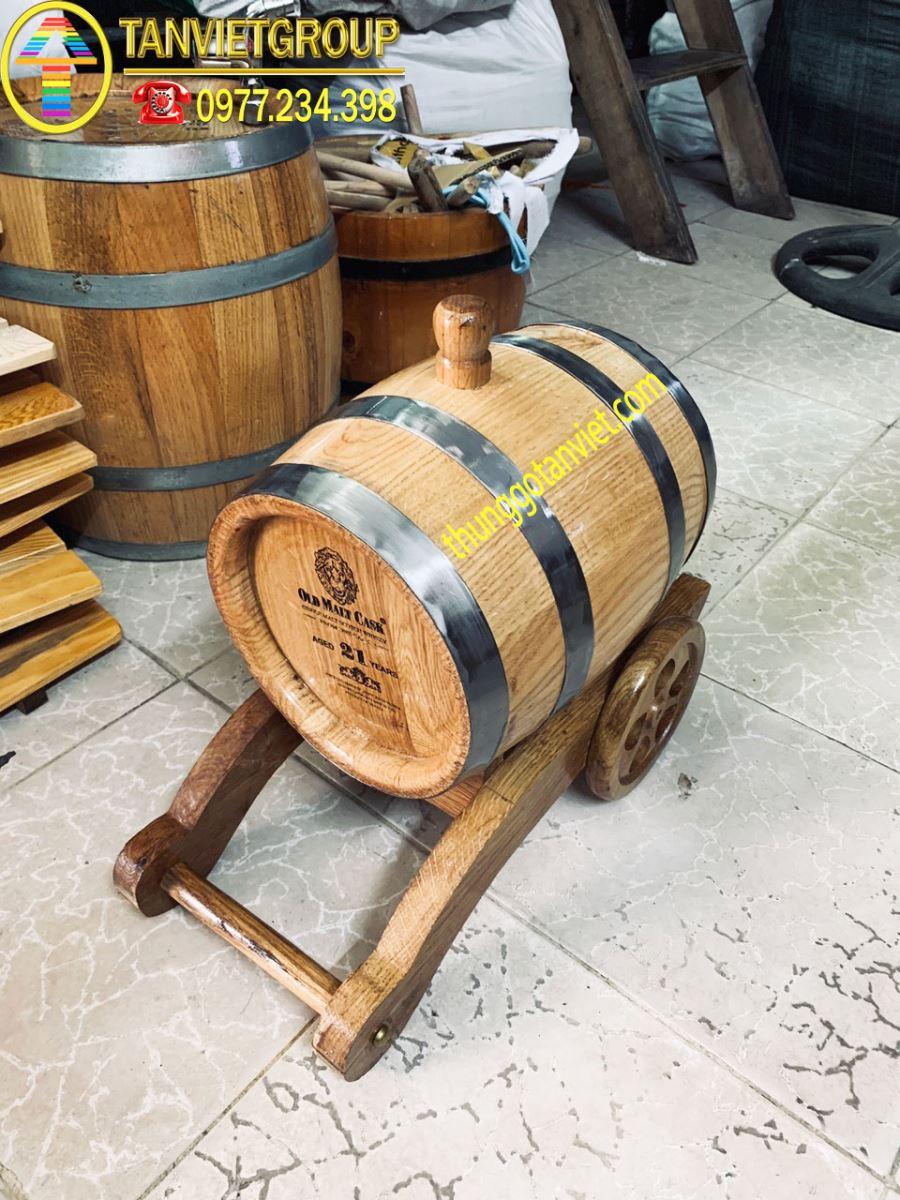 thùng-gỗ-sồi-ủ-rượu-5l